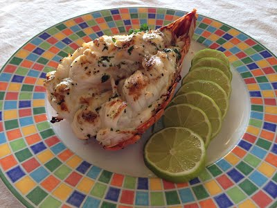 Grilled Provo lobster